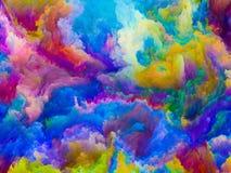 Виртуальные цвета Стоковые Изображения RF