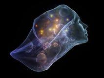 Виртуальный интеллект Стоковая Фотография