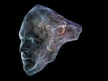 Виртуальный интеллект Стоковые Фото