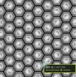 Виртуальный футуристический пользовательский интерфейс наговоров также вектор иллюстрации притяжки corel Стоковые Фотографии RF