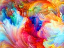 Виртуальный цвет стоковая фотография rf