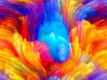 Виртуальный цвет стоковые фотографии rf