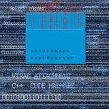 Вирусное приложение стоковое изображение rf