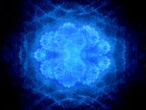 Вирус сини накаляя неизвестный Стоковые Фотографии RF