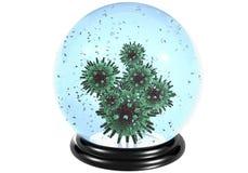 вирус snowdome иллюстрация вектора