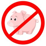 вирус swine Стоковая Фотография RF