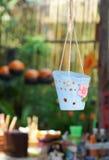 Висеть глиняных горшков Стоковые Фото