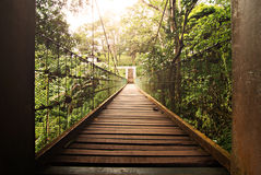 висеть моста Стоковая Фотография RF