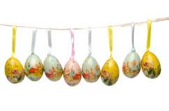 Висеть пасхальных яя Стоковое Изображение