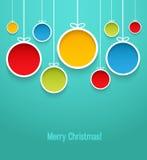 висеть рождества шариков бесплатная иллюстрация