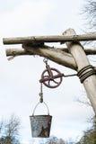 Виселица и ведро Стоковая Фотография RF