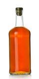 виски бутылки полный Стоковые Фотографии RF