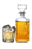 Виски и лед одно Стоковое Фото