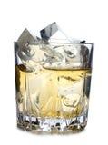 Виски и лед Стоковые Фотографии RF
