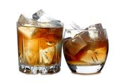 Виски и лед 6 Стоковое Фото