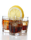 Виски и лимон Стоковое Изображение RF