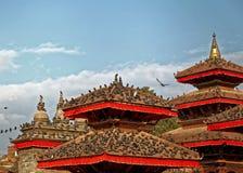 Виски квадрата Катманду Durbar Стоковая Фотография