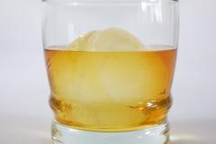 Виски на льде Стоковая Фотография