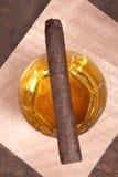 виски сигары Стоковое Изображение