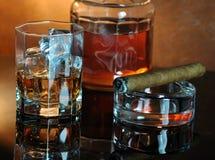 виски состава Стоковая Фотография