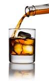 виски стекла Стоковое Изображение