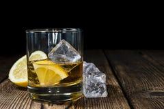 Виски с лимоном Стоковые Фото