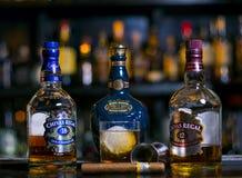 Виски Chivas царственное стоковые изображения