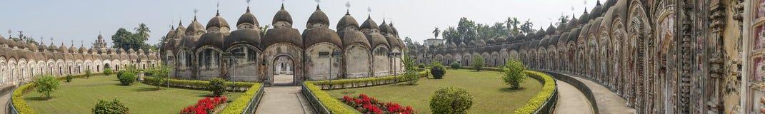 108 висков Shiva Kalna, Burdwan Стоковые Изображения RF