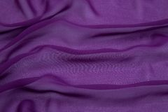 Вискоза скомканная пурпуром Стоковое Фото