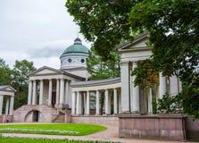 Виск-усыпальница Yusupov в поместье & x22; Arkhangelskoe& x22; стоковые изображения