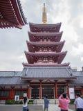 Висок 寺 ‰  è æµ Sensoji…, токио, Япония, пагода Стоковые Изображения RF
