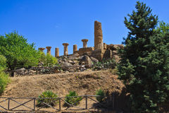 Висок Агридженто Геркулеса - долина висков Стоковые Изображения