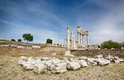 Висок акрополя, древнегреческия Стоковые Фотографии RF