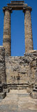 Висок Аполлона на Didyma Стоковое фото RF