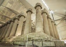 Висок Аполлона Epicurius, Argolida, Греции стоковая фотография rf