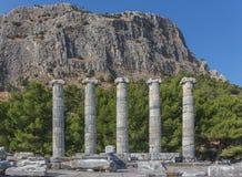 Висок Афины Polias Стоковое Изображение RF