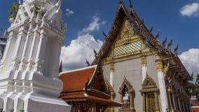 Висок Бангкока буддийский Стоковая Фотография
