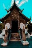 Висок Бангкока изумрудного Будды - стоковое изображение