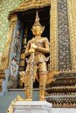Висок Бангкока Таиланда изумрудного Будды Стоковое Изображение RF