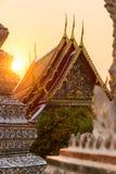 Висок Бангкока Стоковое Изображение