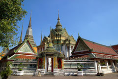 Висок Бангкок Таиланд pho Wat Стоковые Изображения