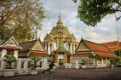 Висок Бангкок pho Wat, Таиланд Стоковое Фото