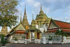 Висок Бангкок pho Wat, Таиланд Стоковые Изображения