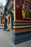 висок божеств индийский увиденный Стоковая Фотография RF