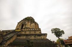 Висок, буддийский висок в Чиангмае Thailand стоковое фото