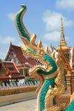 висок буддийской скульптуры Стоковая Фотография RF