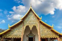 Висок буддистов в Чиангмае стоковое изображение