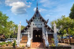 Висок буддистов в Чиангмае стоковое фото rf
