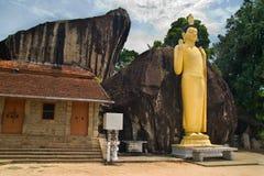 висок Будды Стоковое Изображение RF
