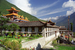 висок будизма Стоковая Фотография RF